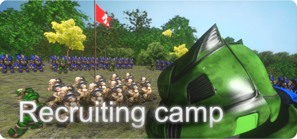 Recruiting camp