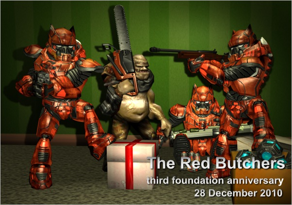Third Red Butchers anniversary